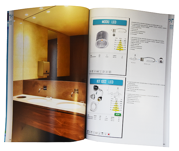 Catalogue de luminaire